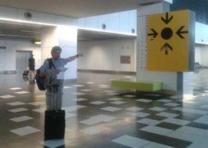trefpunt voor vluchtgebeleiders op Gran Canaria airport